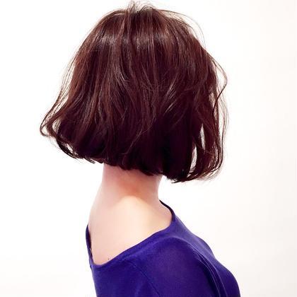 首が綺麗に見えるボブ☆ フォルテ草薙店所属・MAO☆のスタイル