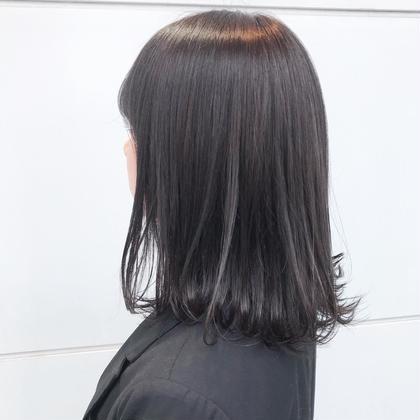 【✨就活生応援✨】黒染めカラー & トリートメント《初回限定》