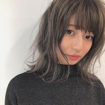 グレージュカラー LANDランド所属・小顔カット❤️秋田将吾のスタイル