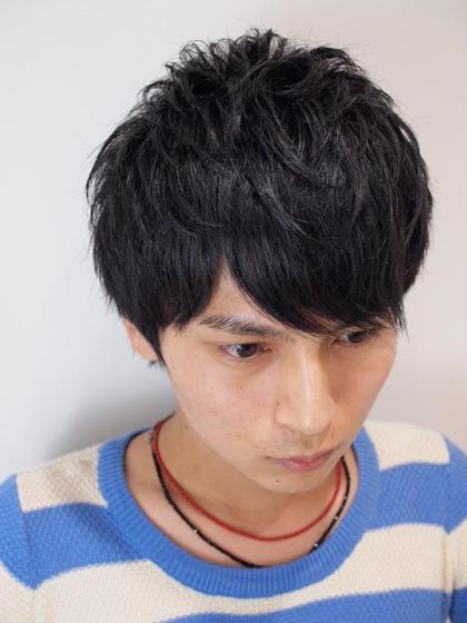 束感ショートマッシュ オレンジポップ津田沼店所属・西川将司のスタイル