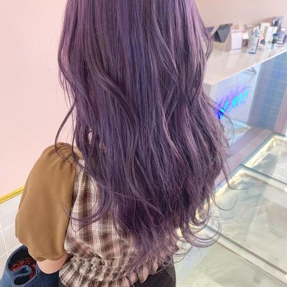 💘🕊1日一名限定🕊💘ブリーチ+カラー+色持ち艶髪トリートメント⭐️✨