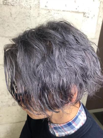 🙆♂️メンズ限定🙆♂️ men'sカット+カラー+炭酸ヘッドスパ(15分)orトリートメント フルカラー
