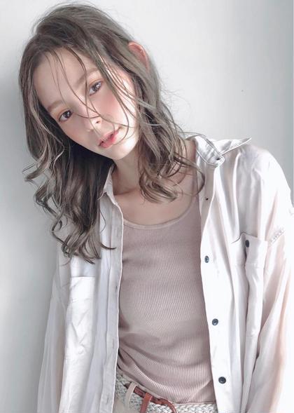 🌼【人気メニュー】カット+ 艶・高発色カラー