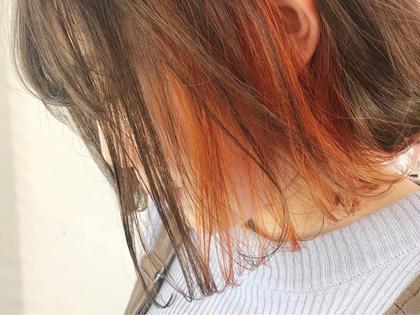 ❤️ミニモ限定❤️specialインナーカラー (ブリーチ+カラー)