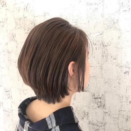 【髪質改善🌈ショート】イルミナカラー &oggi ottoトリート