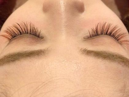 ポイントカラーマツエク eye beauty salon 「sylph」阿倍野店所属・前川万都里のフォト