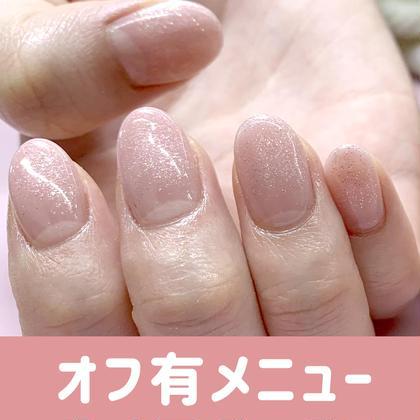 ワンカラーorグラデ◆オフ有・ハンド(施術90分)