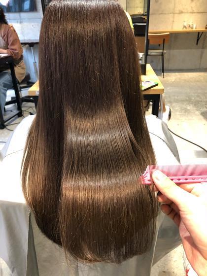 【髪質改善】サイエンスアクア+イルミナ、アディクシーカラー