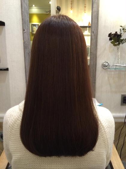縮毛矯正、カラー、トリートメント☆  ベージュ、ヴァイオレットで柔らかな質感に☆   AUBE hair   axia所属・河野和也のスタイル