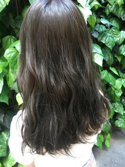 大人気‼️ 6トーン地毛風カラー‼️オリーブアッシュ MichioNozawaHAIRSALONGinza所属・モリケイタのスタイル