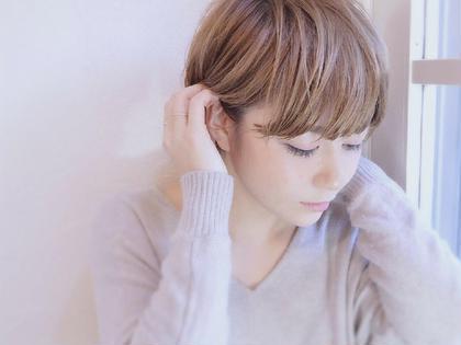 新規【学生限定】❤️前髪カット付き❤️うる艶透明感カラー&4step質感改善トリートメント