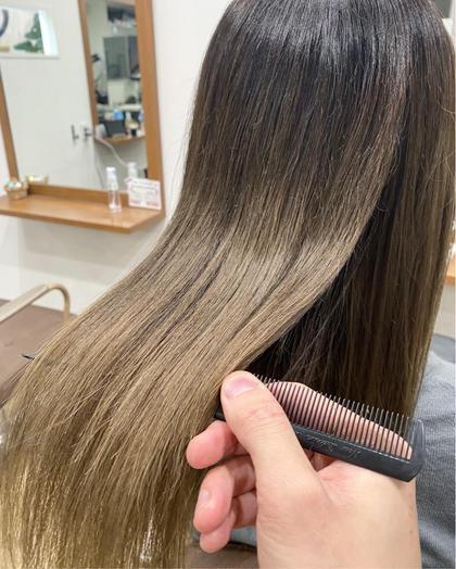 【最高髪質改善☆】カット+艶カラー+髪質改善酸熱トリートメント