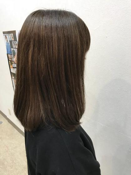 肩下ボブ(*´-`)軽くして普段お手入れしやすいように☺︎♡ 茂木 恵里香のミディアムのヘアスタイル