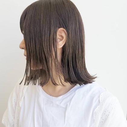 似合わせ小顔カット & キューティクルトリートメント