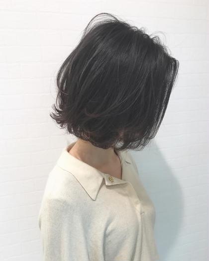 BOB 寺坂雄飛topstylistのショートのヘアスタイル