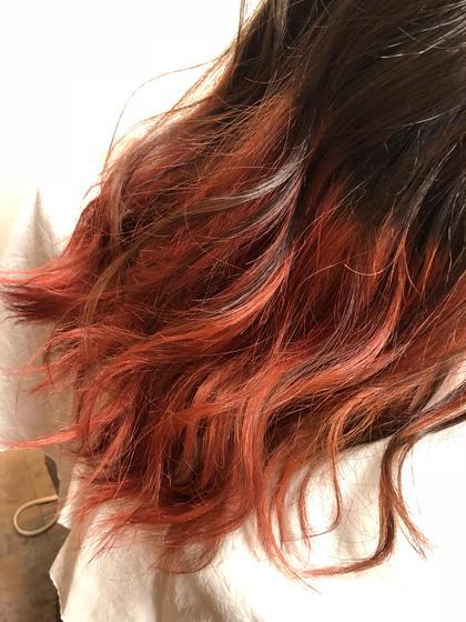 毛先だけをブリーチして、より色味の強いカラーに! NAKAOCOIFFURE平針所属・中島康彰のスタイル