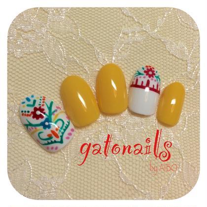流行りの刺繍ネイル gatonails所属・NailArtistAIBOのフォト