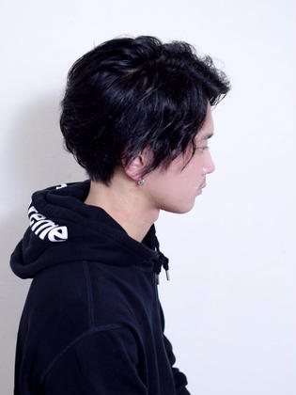【men's限定】骨格補正CUT✂️+ReFa極上炭酸スパ💆♂️+眉カット