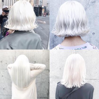 🇰🇷2回目がお得🇰🇷#ホワイトケアブリーチ#イルミナカラー#前髪カット#ダメージケアトリートメント🦄