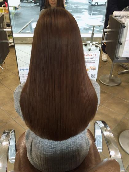 ツヤ髪☆カラーカットトリートメント シエル難波プラス所属・神田やすゆきのスタイル
