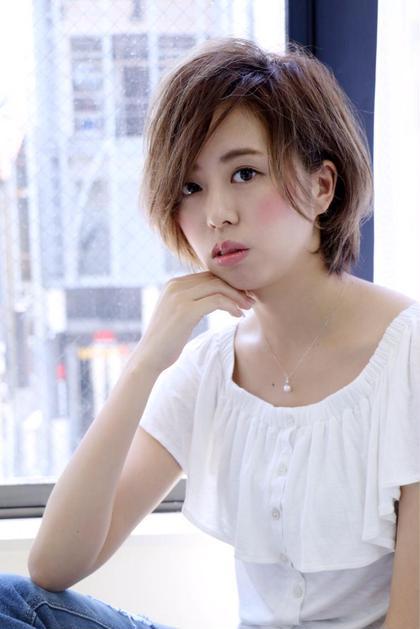 ✨学生大人気✨前髪カット+流行りの外国人風カラー+髪質改善トリートメント