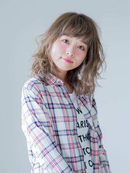 【女性必見】選べるパーマ+カット+オーガニックカラー+コラーゲンTr¥7900
