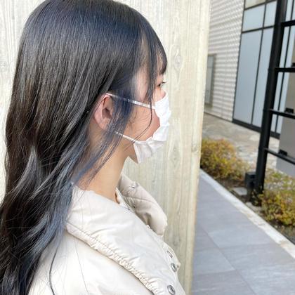 🉐大人気 & 大好評🉐〔 インナー or イヤリング カラー +トリートメント付!! 〕