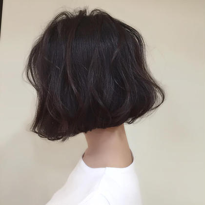流行りゆるふわボブ☆ フォルテ草薙店所属・MAO☆のスタイル
