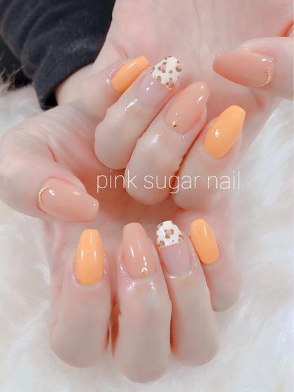 pink sugar nail前橋(旧jewel nail)所属のpink sugarnailのネイルデザイン