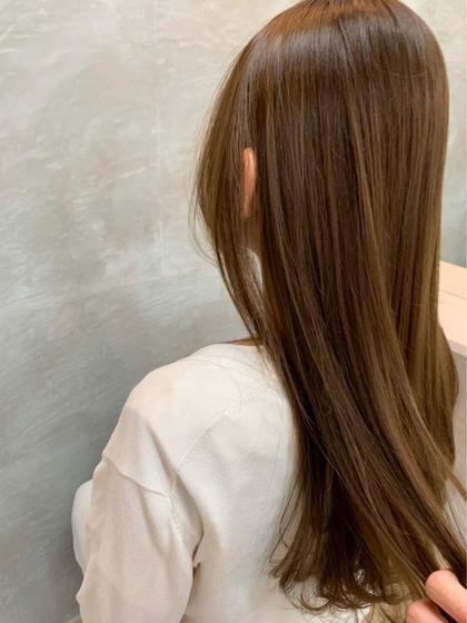 🌧梅雨前に🌧カット+ダメージレス縮毛矯正+トリートメント