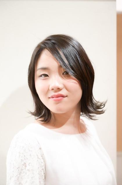 髪に優しいオーガニックフルカラー+好印象似合わせカット+クイックトリートメント✨6000円【新規限定】