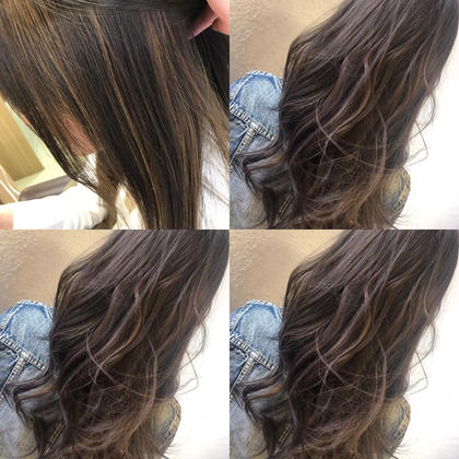 ✔cut+highlight(ハイライト)color+treatment