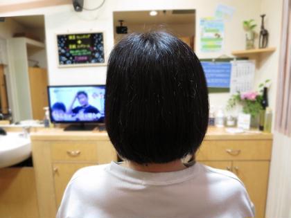 ボブです! HairSalon   JEDI所属・阿部遥夏のスタイル