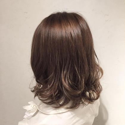 【毎月通える‼️】小顔デザインカット+カラー