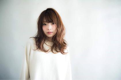アンニュイウェーブロング☆ keep hair design所属・甲田粋愛のスタイル