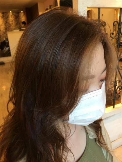 艶髪になります✨イルミナカラー+カット+ハイライト+炭酸泉+潤いトリートメント