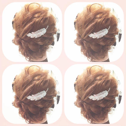 ヘアアレンジ☻ Hair room CHARI所属・松尾彩のスタイル