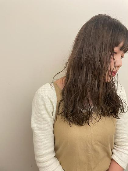 【🟠人気No.1メニュー🟠】カット+カラー+トリートメント ¥8500