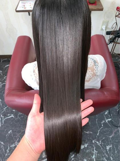 🌈ミニモ限定🌟『東京で一番傷まない❗️』 似合わせカット+髪質改善縮毛矯正 ¥17950→¥13900
