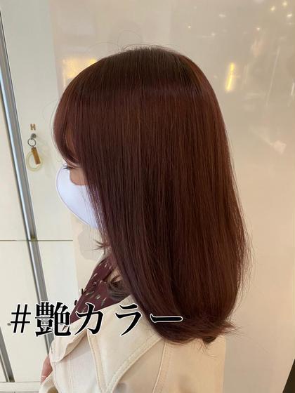 【王道】カラー+Aujua4stepトリートメント