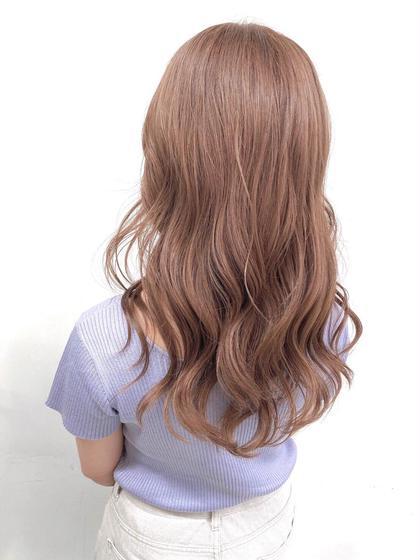 ☁️ブリーチなしダブルカラー☁️髪を痛めずに可愛い髪の毛へ💫➕髪質改善トリートメント🌈
