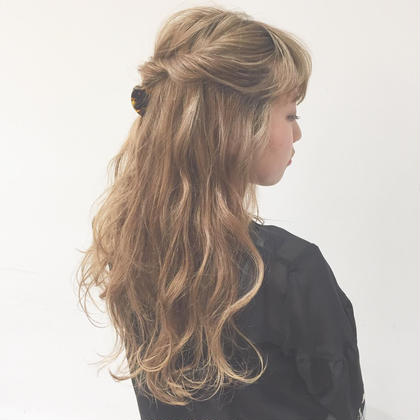 hair arrange Sarsngさらんのヘアアレンジ
