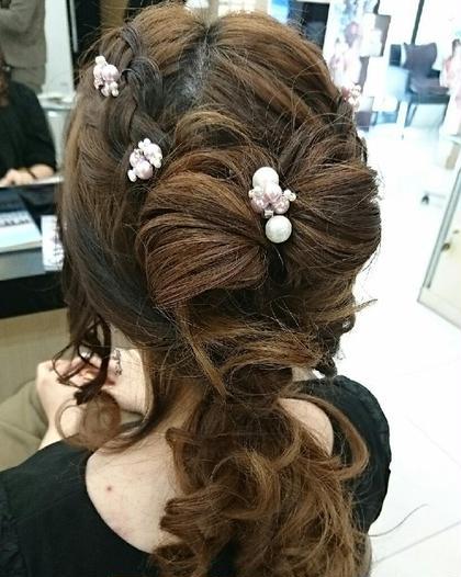 🌼結婚式、パーティーのヘアセット