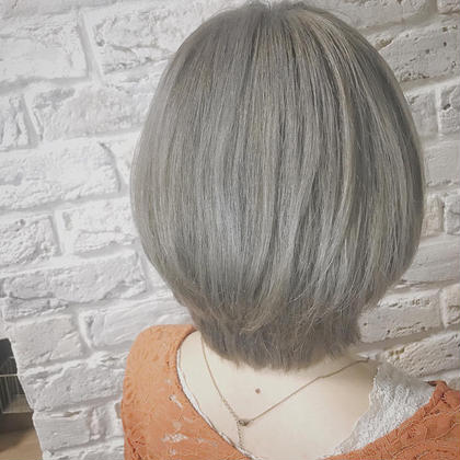 大人気外国人風wカラー(イルミナ)+前髪カット