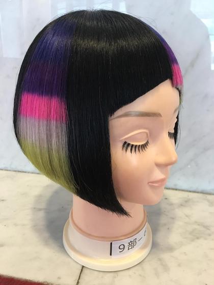 コンテスト優勝作品 Hair link Lien所属・加々美賢育のスタイル