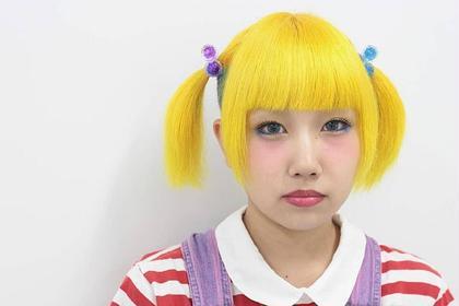 ドールイエロー CLLN Hair design所属・札木哉太のスタイル