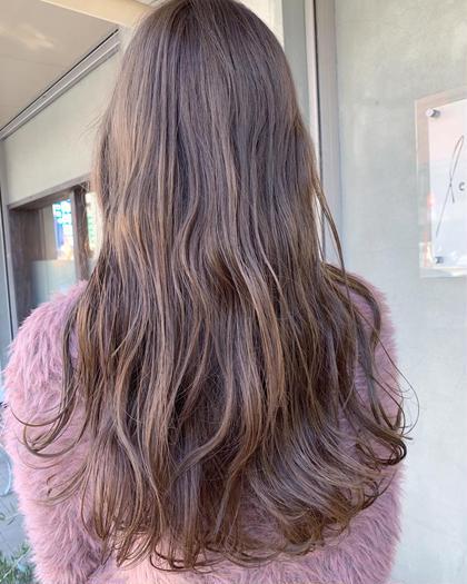 透明感抜群のアッシュグレー👌 Le blanc hair gallery所属・masa のスタイル