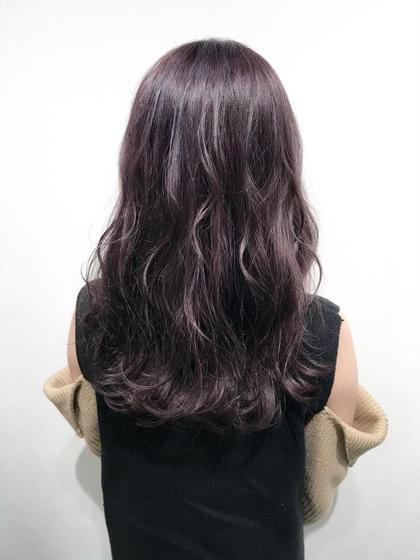 【ラベンダーグレージュカラー】  ほんのり紫がかったグレージュ系カラー☺︎  ✔︎透明感と透け感のある髪色にしたい方 ✔︎ブリーチ毛でも、色落ちがキレイな髪色にしたい方  などにオススメです🙆♂️   インスタグラムで、その他スタイル更新してます。 気に入ったスタイルは保存しておいてもらうと カウンセリングがスムーズです☆  instagram→@hayatoniwa