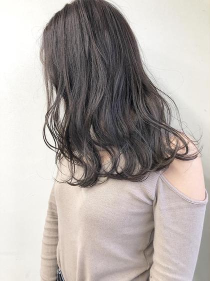 オーガニック潤艶全体カラー \4000【嬉しい☆ロング料金無し☆】
