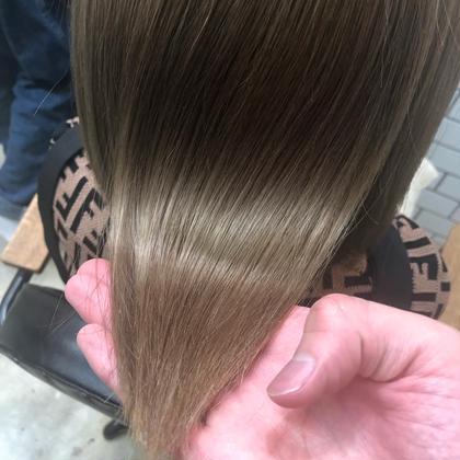 ✨贅沢フルコース✨髪質改善8ステップトリートメント&ブリーチオンカラー